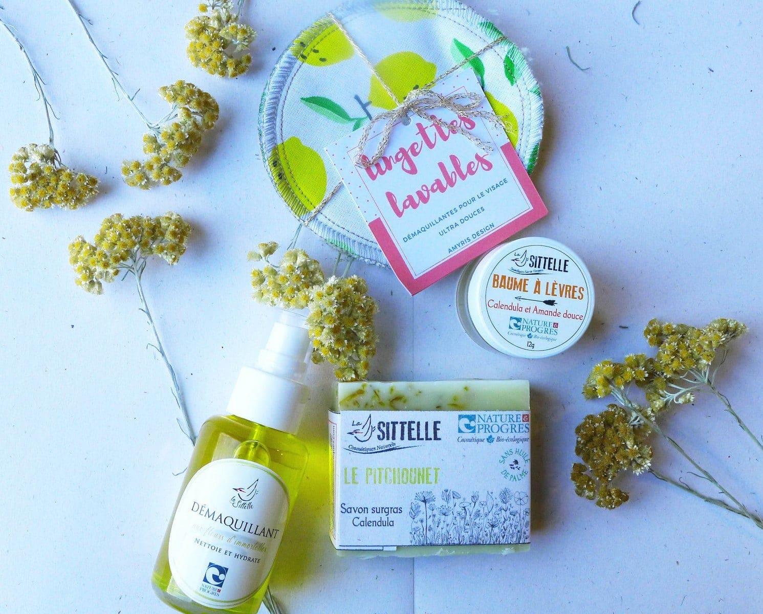 Produits cosmetiques, Naturels, Faits main