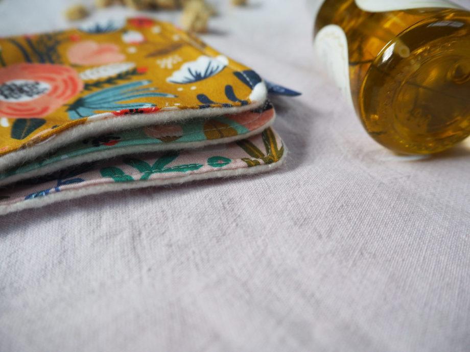 lingettes lavable en coton bio