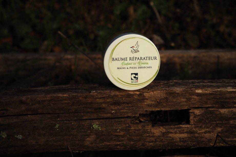 baume réparateur fabriqué en Cévennes par la Sittelle
