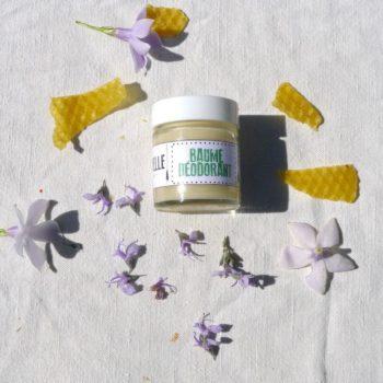 déodorant naturel parfumé à la verveine. Fabriqué en Cévennes, Nature&Progrès, La Sittelle
