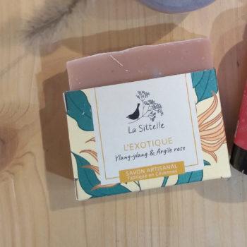 savon bio artisanal ylang-ylang la sittelle